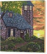 Painting Wood Print