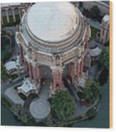 Palace Of Fine Arts Theatre In San Francisco Wood Print