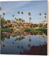 Palm Desert 2 Wood Print