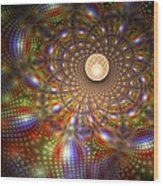 Carlos Castaneda 'the Active Side Of Infinity' Wood Print