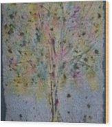 Paper Tree Wood Print