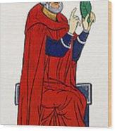 Paracelsus, Swiss Doctor And Alchemist Wood Print