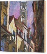 Paris Montmartre  Wood Print