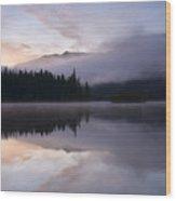 Pastel Dawn Wood Print