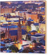 Paterson New Jersey Wood Print