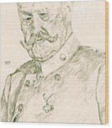 Paul Von Hindenburg Wood Print