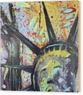 Peace And Liberty Wood Print by Robert Wolverton Jr