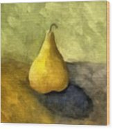 Pear Still Life Wood Print by Michelle Calkins