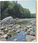 Pemmigewasset River Wood Print