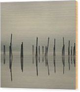 Pend Oreille Reflections Wood Print