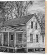 Penn Center Wood Print