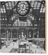Pennsylvania Station, Interior, New Wood Print by Everett