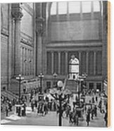 Pennsylvania Station Interior Wood Print