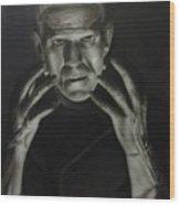 People- Frankenstein's Monster Wood Print