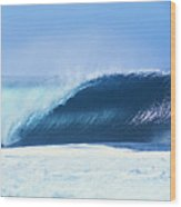 Perfect Wave At Pipeline Wood Print