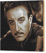 Peter Sellers, Actor Wood Print