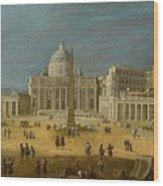 Peters Basilica Wood Print