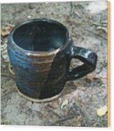 Petite Tea Cup Wood Print