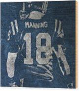 Peyton Manning Colts 2 Wood Print