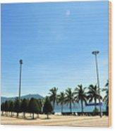 Pham Van Dong Beach Wood Print
