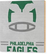 Philadelphia Eagles Vintage Art Wood Print