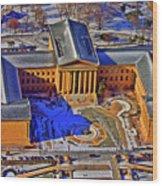 Philadelphia Museum Of Art 26th Street And Benjamin Franklin Parkway Philadelphia Pennsylvania 19130 Wood Print