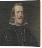 Philip Iv Of Spain Wood Print