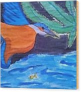 Philippine Kingfisher Painting Contest 1 Wood Print
