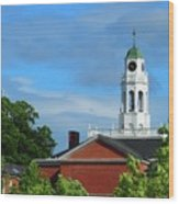 Phillips Exeter Academy Main Building Wood Print