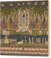 Pichwai 114 Wood Print