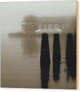 Pier 17 Wood Print