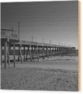 Pier Willmington Nc Wood Print