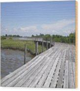 Plank Passage Wood Print