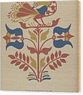 "Plate 4: From Portfolio ""folk Art Of Rural Pennsylvania"" Wood Print"