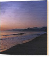 Playa Huequito Wood Print