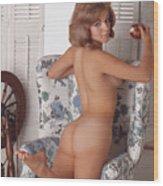 Playboy, Miss May 1963 Wood Print