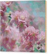Plum Blossom - Bring On Spring Series Wood Print
