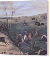 Po Hunp 15 H Alken-oakley Hunt Henry Thomas Alken Wood Print