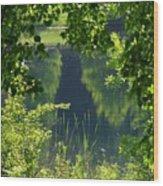 Pocket Lake Wood Print