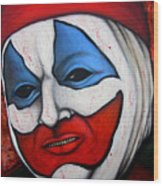 Pogo The Clown Wood Print