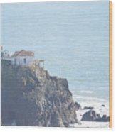 Point Bonita Light House Wood Print