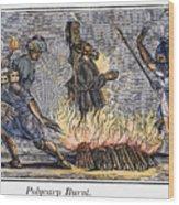 Polycarp Of Smyrna Wood Print