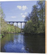 Pontcysyllte Aqueduct Wood Print