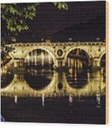 Ponte Sisto Wood Print