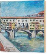 Pontevecchio Wood Print
