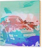 Porsche 911  Wood Print by Naxart Studio
