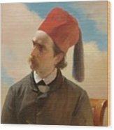 Portrait Of A Scholar Wood Print