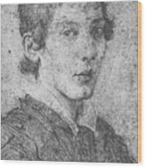 Portrait Of A Young Man Wood Print