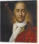 Portrait Of A Young Nobleman Wood Print