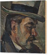 Portrait Of Artist Karnakoski Wood Print